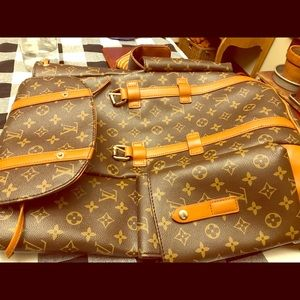 Louis Vuitton backpacker
